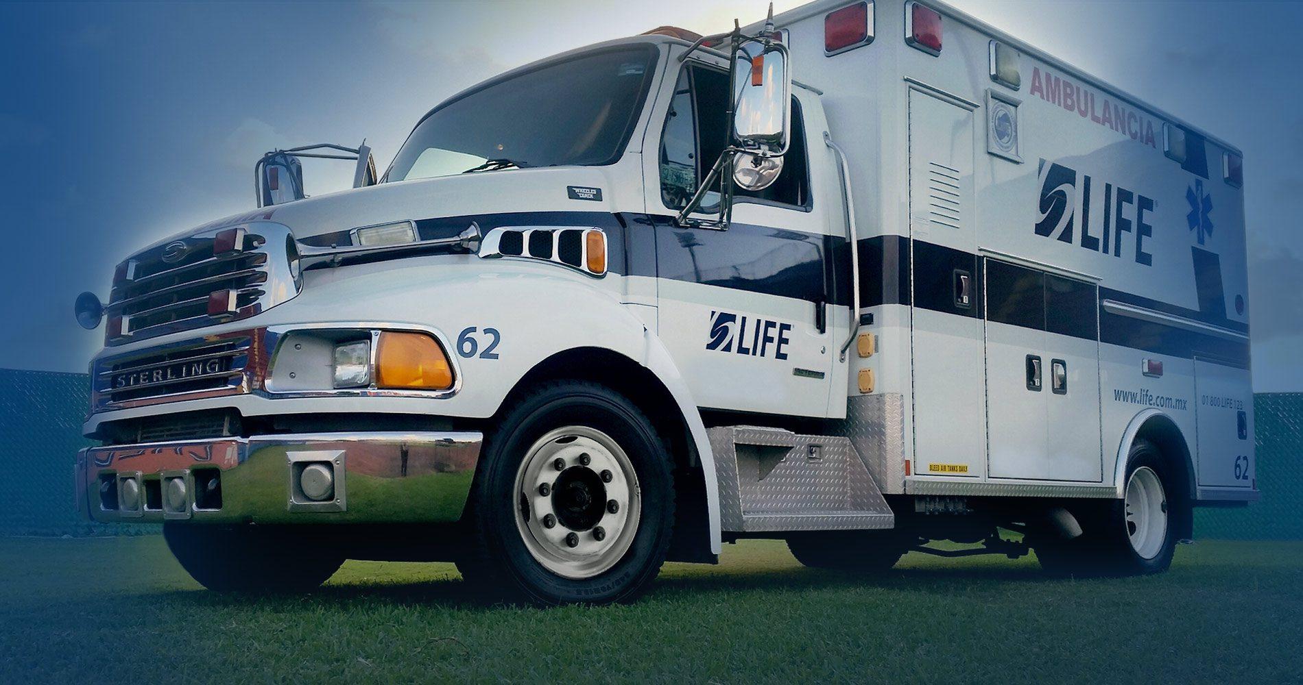 Somos la empresa Numero 1 en ambulancias en México